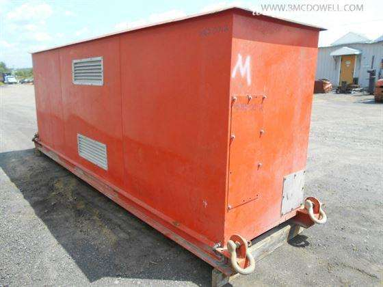 Synergy Engineering Ltd  Low Profile Skid Mounted Substation