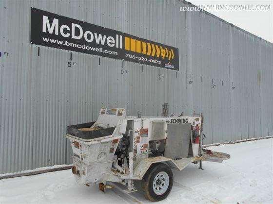 Schwing Concrete Pump - SP 305