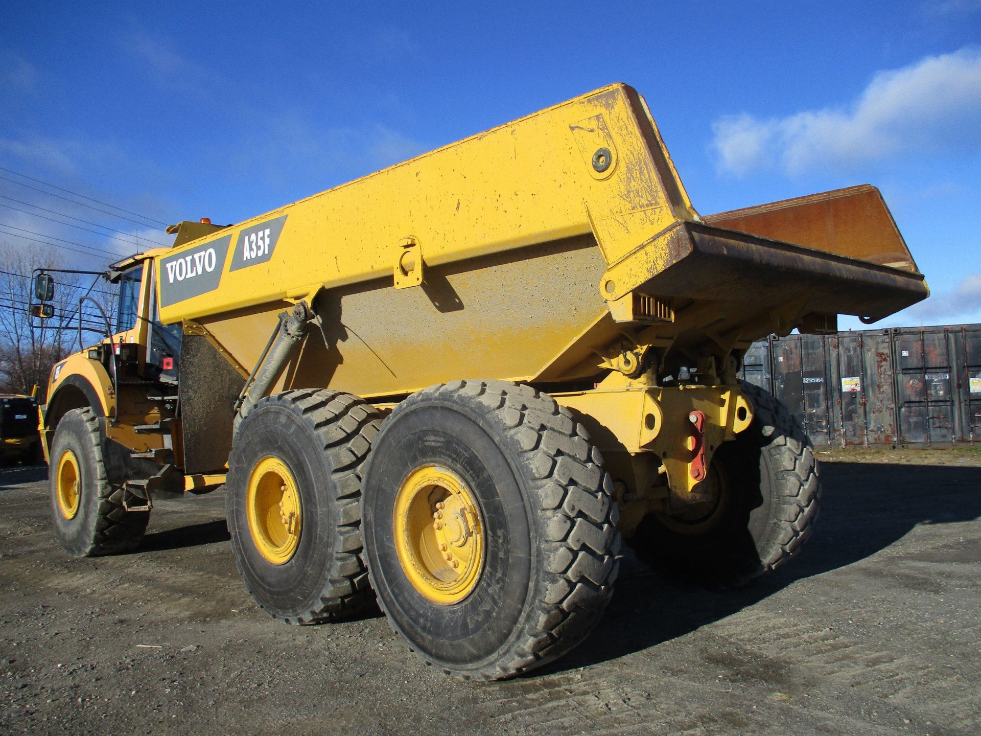 Volvo Articulated 35 Ton Rock Truck - A35F