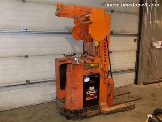 Raymond Reach Forklift 20 R40tt