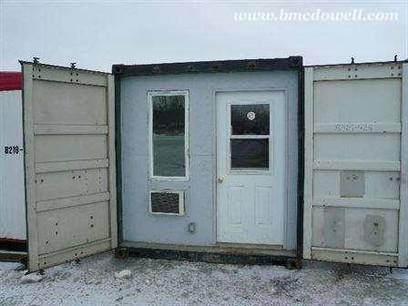 customized office trailer
