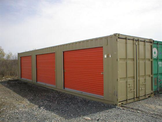 Storage Containers Custom Modification