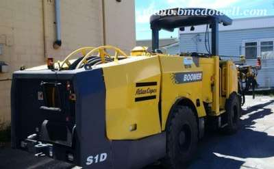 Atlas Copco Underground Jumbo Face Drilling Rig - Boomer S1 D