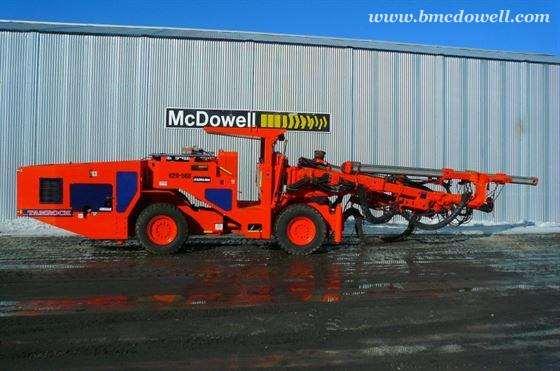 sandvik tamrock underground jumbo twin boom drill axera d06 rh bmcdowell com