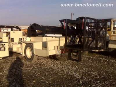 Getman Anfo Loader with Pitman Boom and Man Basket - A64